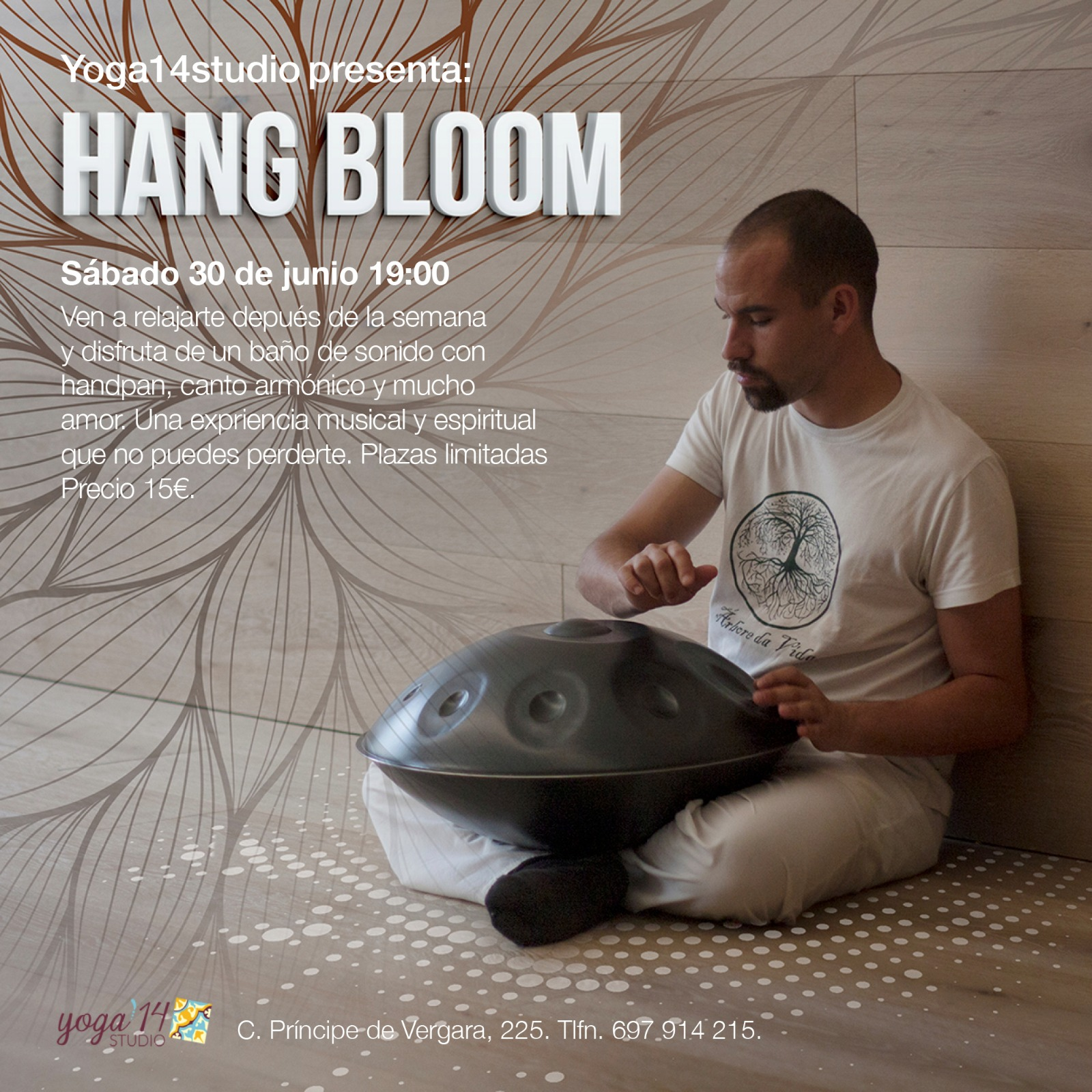 En este momento estás viendo Concierto Hang Bloom (30 Junio 2018)