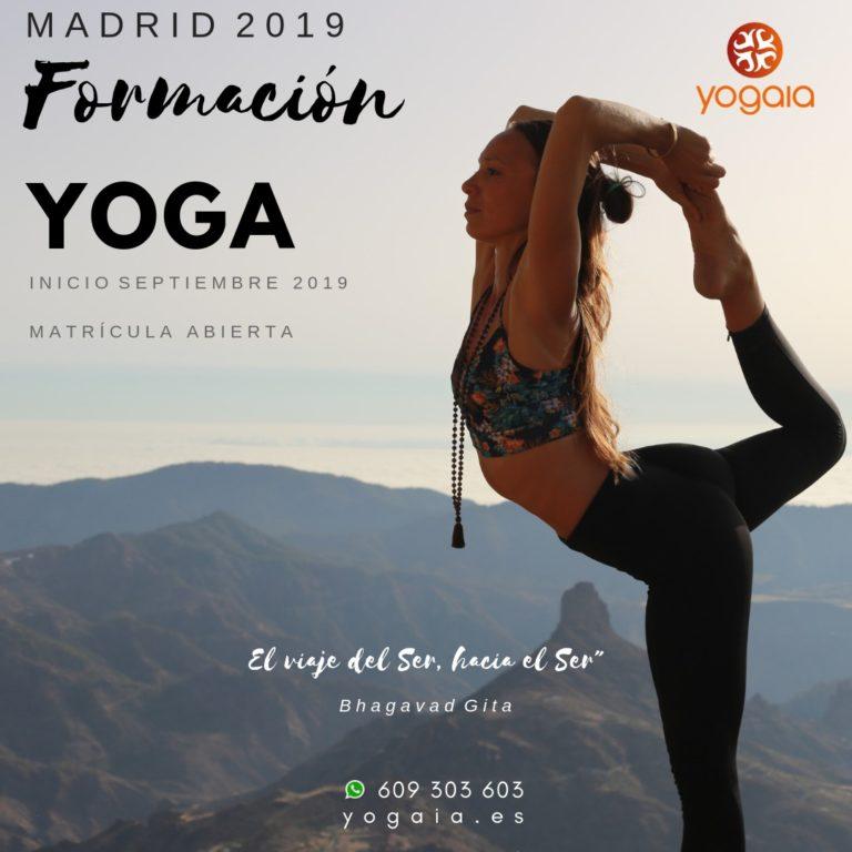 Lee más sobre el artículo Formación de Hatha Yoga 500h